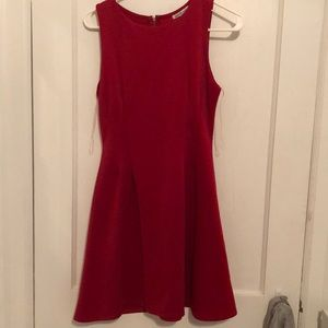 Charlotte Russe Dresses - Red Flair Dress
